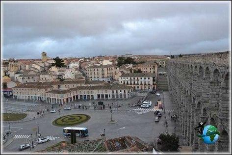 Vistas de Segovia desde el Acueducto
