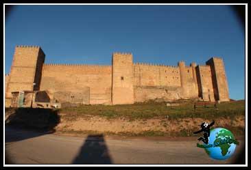 Castillo de los Obispos de Sigüenza.