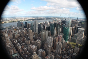 Vistas de New York desde Empire State Building