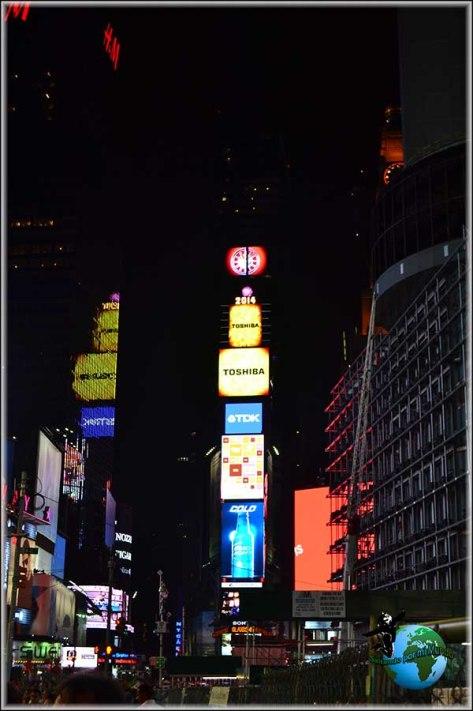 Tiemes Square de noche