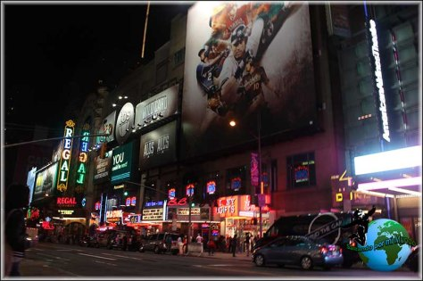 Paseando por Times Square