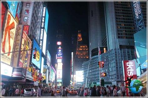 Times Square nunca duerme