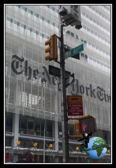 El famoso periódico New York Times