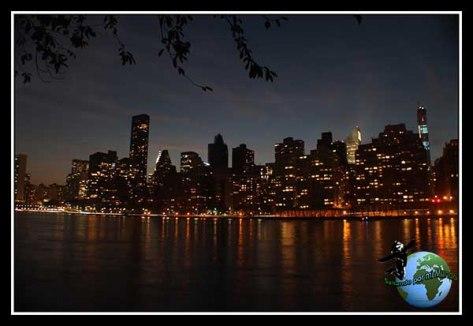 Skyline desde Long Island