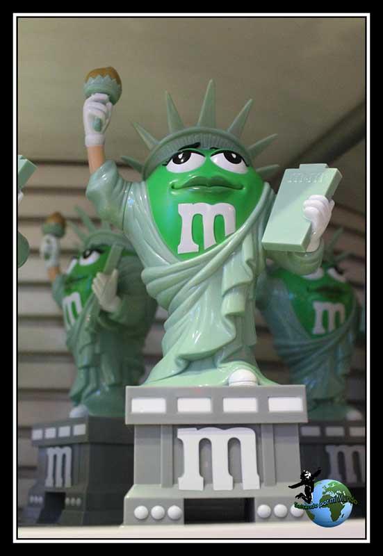 Lady Liberty en m&m´s store