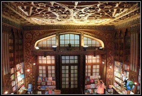 Biblioteca Lello e Irmao en Oporto