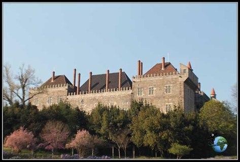 Palacio de los Duques de Bragança en Guimarâes
