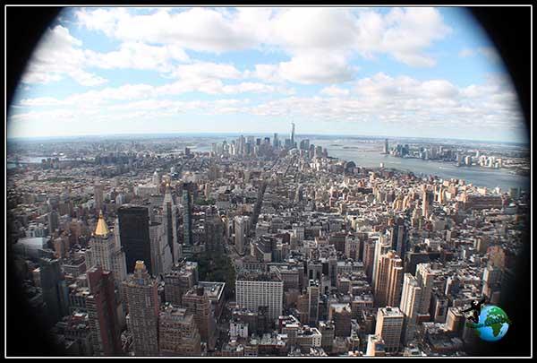 Vista de infarto desde el Empire State Building