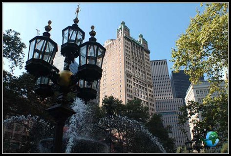 Edificios aledaños al City Hall de New York