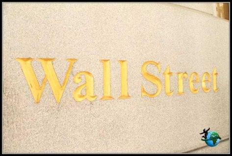 Wall Steet, cómo no con letras doradas