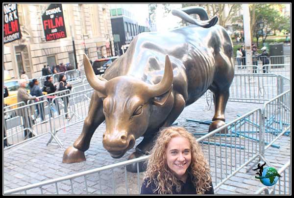 El famoso toro de Wall Steet al que no podemos acercarnos