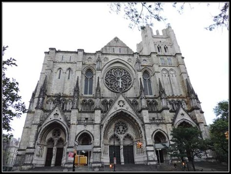 Catedral de St John the Divine en New York