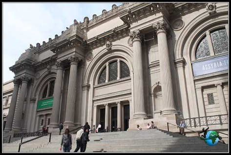 Entrada del Metropolitan Museum de New York