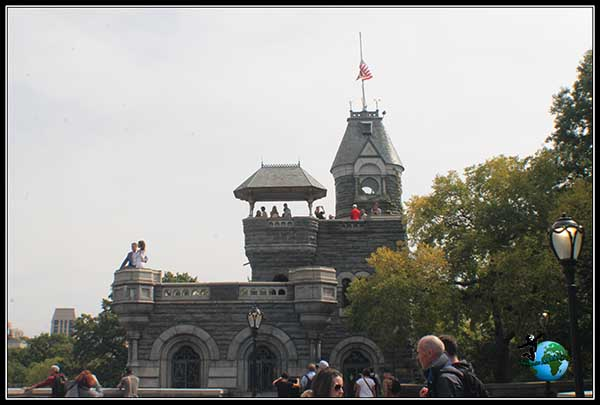 Castillo dentro de Central Park