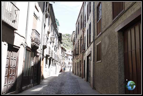 Calle del Agua en Villafranca del Bierzo