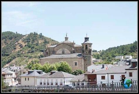 Vistas desde nuestro mirador de Villafranca del Bierzo