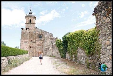 Nos despedimos del Monasterio de Santa Maria de Carracedo