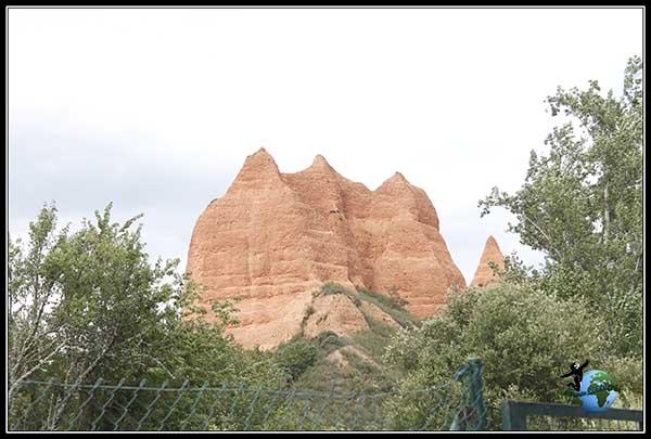 Antigua mina de Oro de Las Médulas, en la comarca de El Bierzo