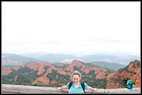 Vistas de Las Médulas desde el Mirador de Orellán. No paramos de hacer fotos!