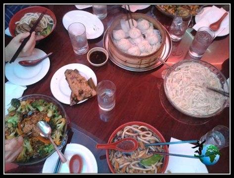 Nuestro menú en ChinaTown en New York