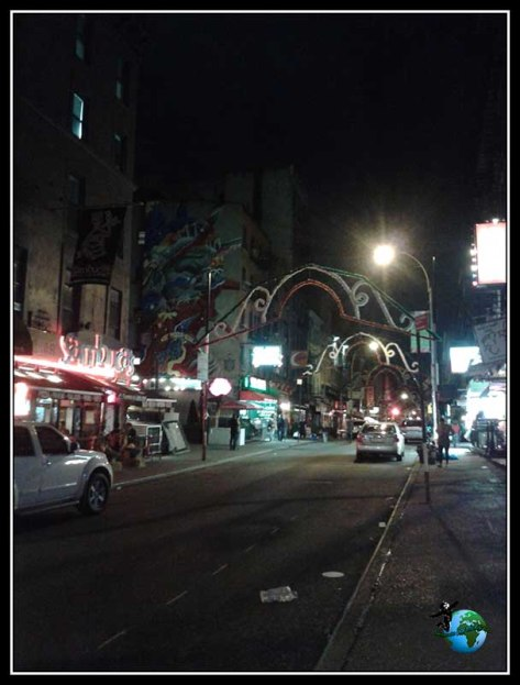 Paseando por Little Italy en New York