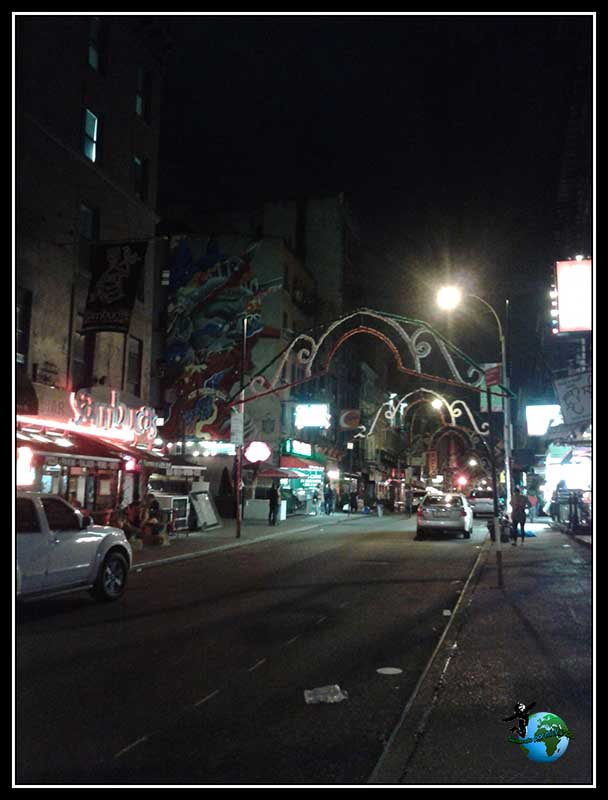 Paseando por Little Italy en New York