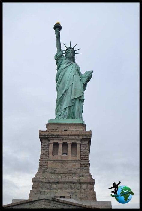 Desde los pies de la Estatua de la Libertad