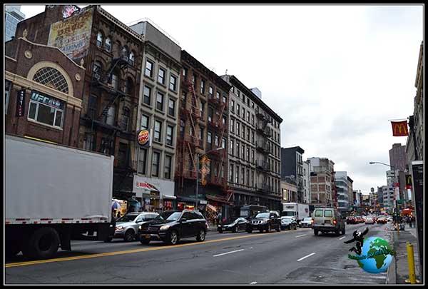 Entrando en China Town en New York