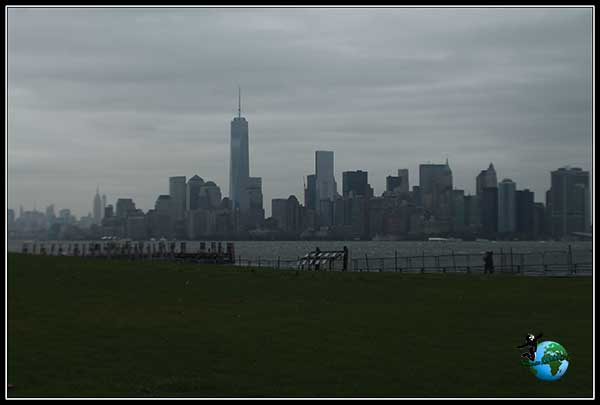 Preciosas vistas desde Liberty Island, New York