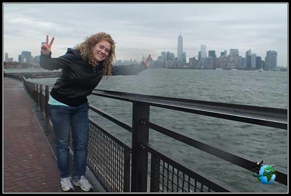 Si no hago el payaso no soy yo desde Liberty Island, New York