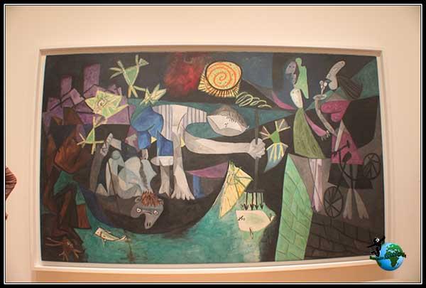 Obras de Picasso en el Moma de New York
