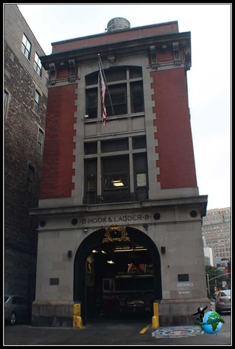 Estación de Cazafantasmas en New York