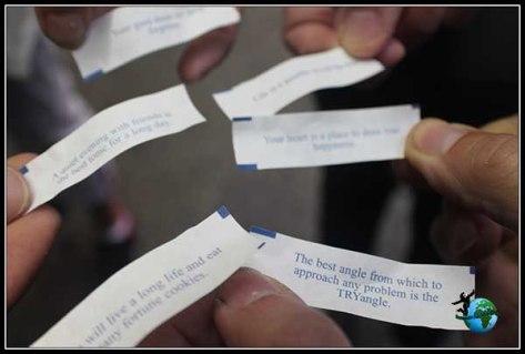 Predicciones de futuro galletiles en ChinaTown de New York