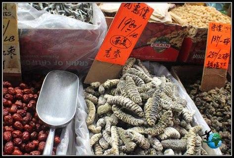 Mercados Chinos con productos de dudoso origen en China Town en New York