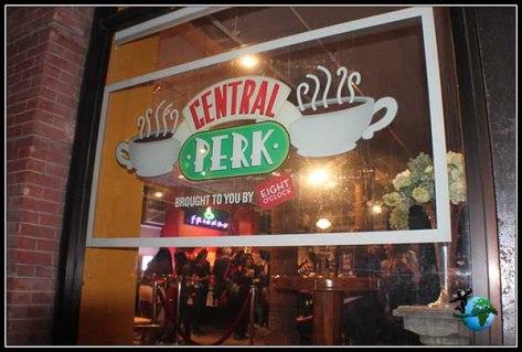 Central Perk en New York.