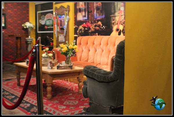 Aquí se reunían los actores de Friends en Central Perk, New York.