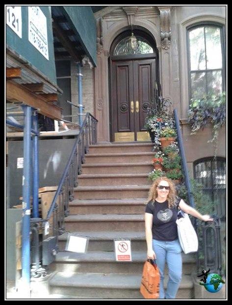 Casa de Carrie Bradshawde Sexo en Nueva York.