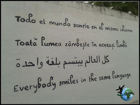 Frases que nos encontramos a nuestro paso por Colmenar del Arroyo.