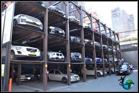 Parking típico de New York.