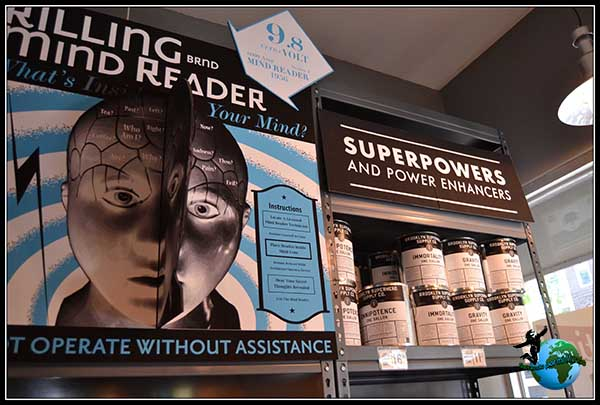 Superpoderes que puedes comprar Brooklyn Superhero Supply en New York.