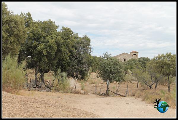 Minas abandonadas en Colmenar del Arroyo.