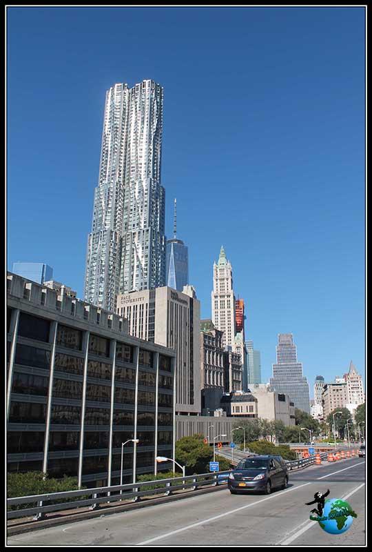 Nos siguen sorprendiendo los rascacielos de New York.