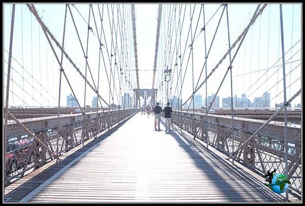 Puente de Brooklyn en New York.