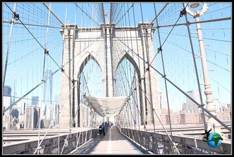 Puente de Brooklyn en New York.