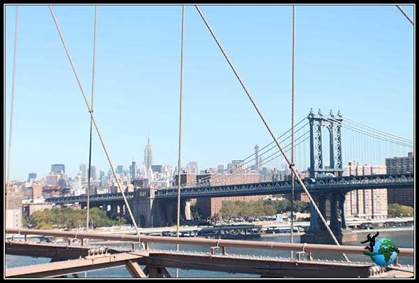 Otro bonito puente que conecta con Manhattan