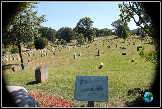 Cementerio que encotramos en nuestro paseo por Brooklyn.