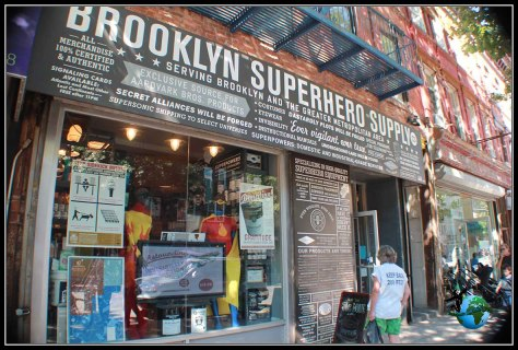 Brooklyn Superhero Supply en New York.