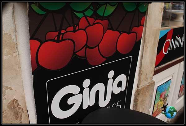 Guinja, bebida típica del Sur de Coímbra.