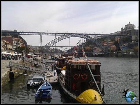 Puente de Don Luis I y los Ravelos en Oporto.