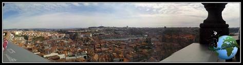 Panorámica de Oporto desde la Torre dos clérigos.